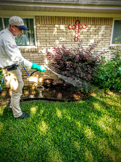Residential Yard Pest Control - Killeen, Temple, Harker Heights, Copperas Cover & Central Texas